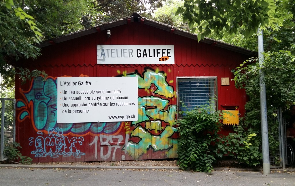 Façade Atelier Galiffe